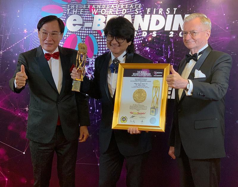 EW & Prof Dr Mike Chan Wins Big At BrandLaureate Awards 2020!