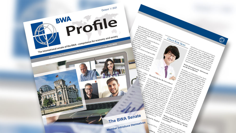 Prof. Dato' Sri Dr. Mike Chan, European Wellness Co-founder And Senator Of BWA Featured In The BWA Profile!